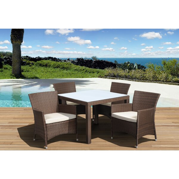 Finola 5 Piece Dining Set by Beachcrest Home