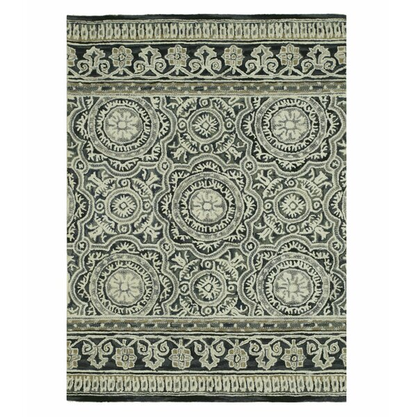 Claire Hand-Tufted Blue/Gray Area Rug by Eastern Rugs