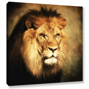 'The King II' by Dragos Dumitrascu Photographic Print on Wrapped Canvas by ArtWall