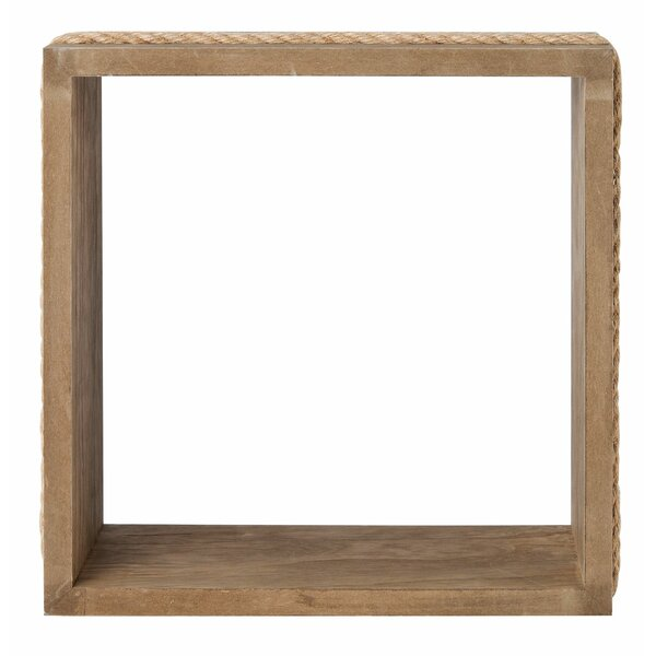 Velazquez Cube Wall Shelf by Rosecliff Heights