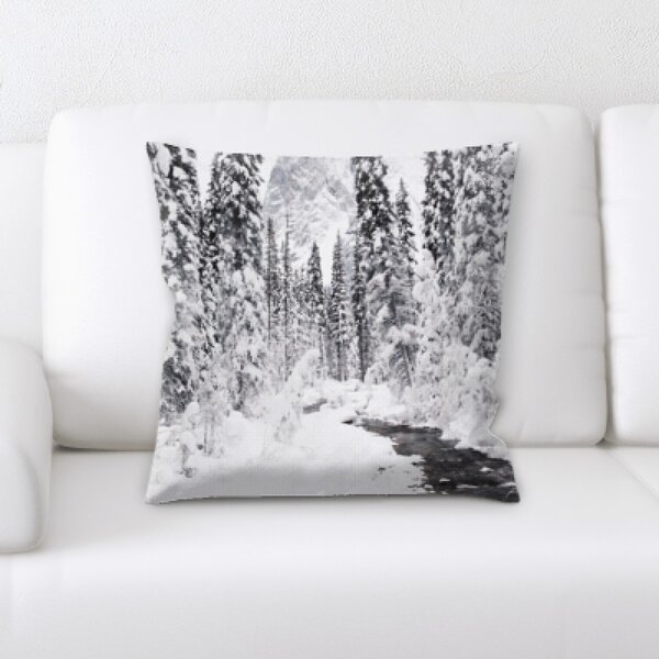 Winter Feeling (87) Throw Pillow by Rug Tycoon
