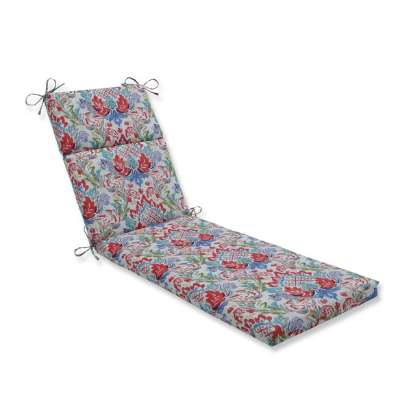 Crew Park Flying Indoor/Outdoor Chaise Lounge Cushion