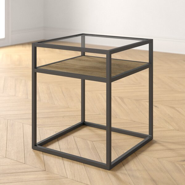 Hartley Frame End Table With Storage By Foundstone