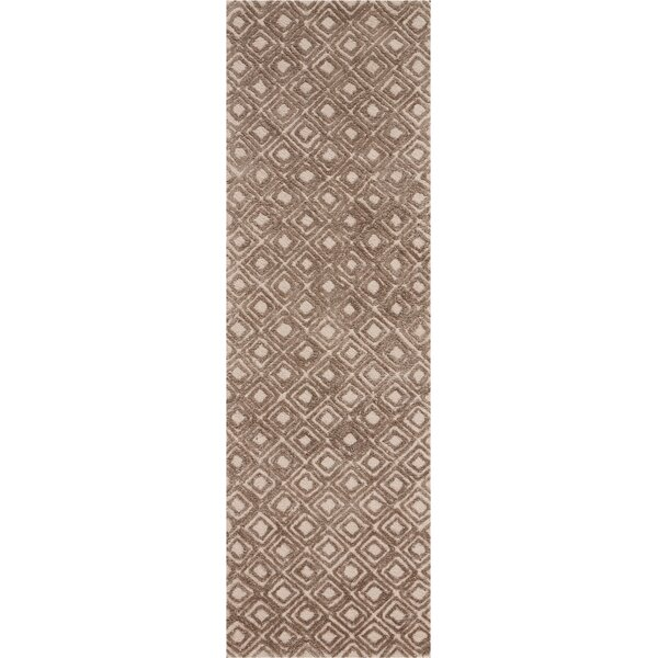 Chism Deco Hand-Tufted Taupe Area Rug by George Oliver