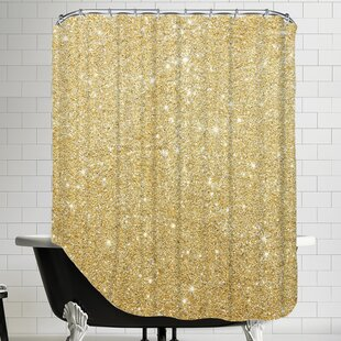 Shop for Shiny Shower Curtain ByEast Urban Home