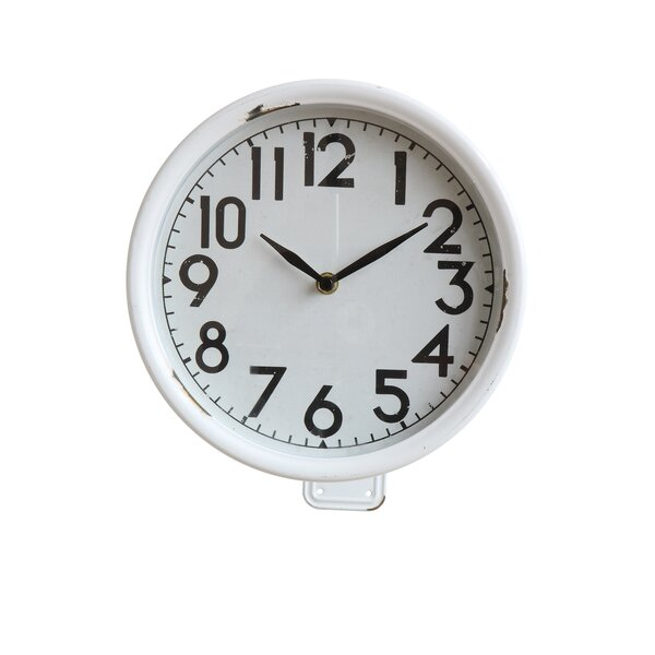 Fontanez Iron 10.5 Wall Clock by Ivy Bronx