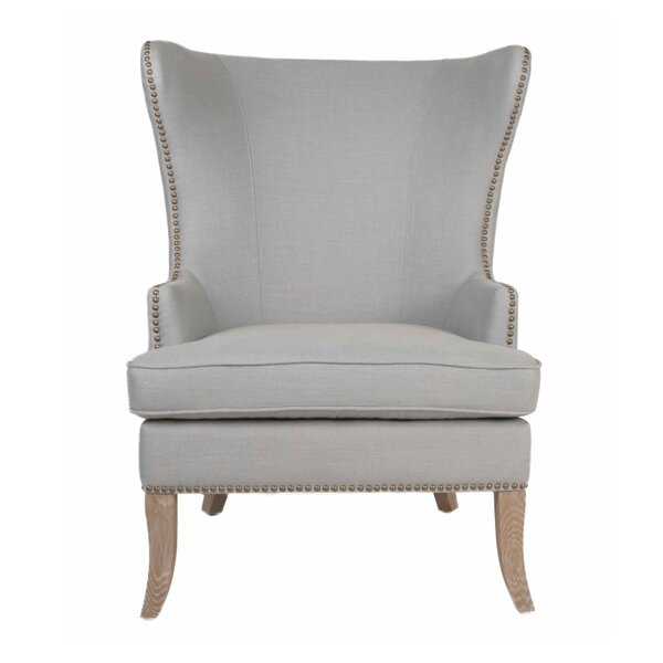 Lesparre Wingback Chair By One Allium Way No Copoun