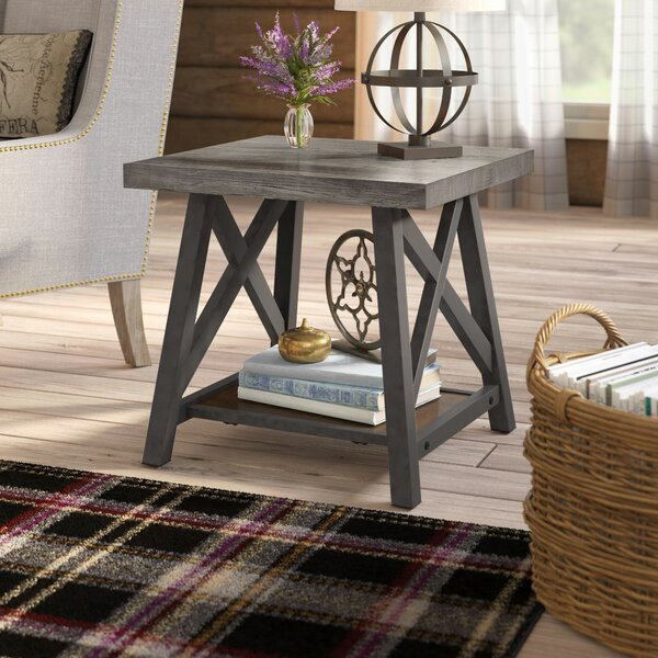 Silvis End Table by Laurel Foundry Modern Farmhouse