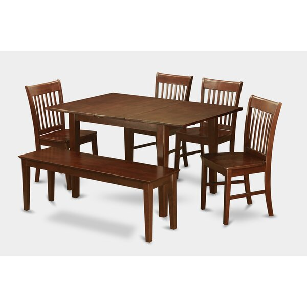 Bargain Lorelai 6 Piece Extendable Dining Set By Alcott Hill New