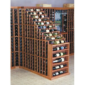 Designer Series 270 Bottle Floor Wine Rack by Wine Cellar Innovations