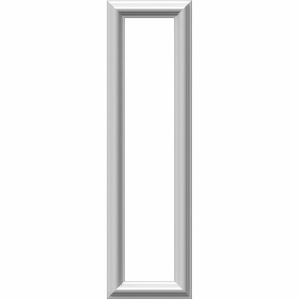 Ashford 28H x 8W x 1/2D Molded Classic Wainscot Wall Panel by Ekena Millwork