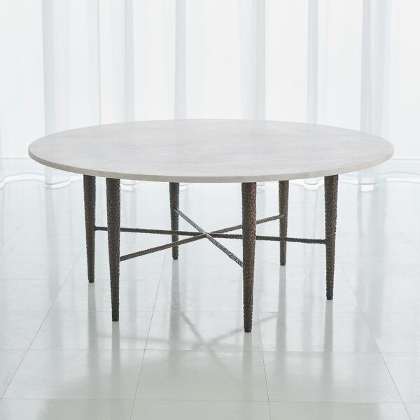 Hammered Coffee Table By Global Views