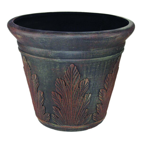Breeze Point Plastic Pot Planter by Artistic Products