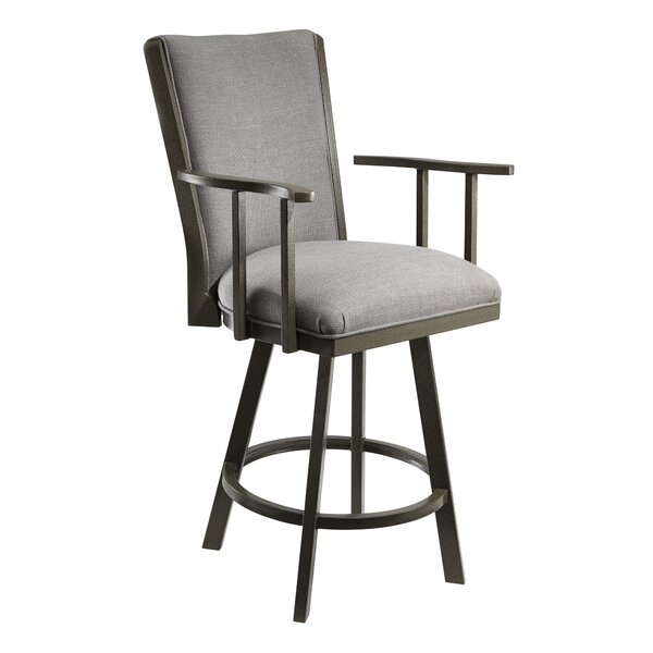 Bohman 30 Swivel Bar Stool by Latitude Run