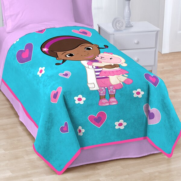 Doc Mcstuffins Caring Fleece Throw Blanket by Disney