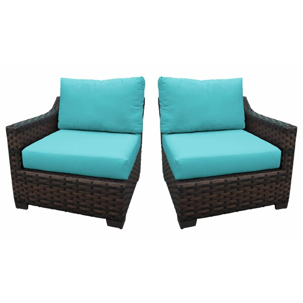 Kathy Ireland Homes & Gardens River Brook Left Arm Sofa And Right Arm Sofa (Set of 2) by kathy ireland Homes & Gardens by TK Classics