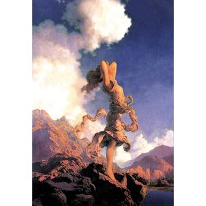 'Ecstasy' by Maxfield Parrish Painting Print by Buyenlarge