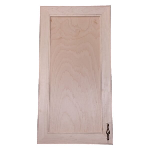 Village 15.5 W x 29.5 H Recessed Cabinet by WG Wood Products
