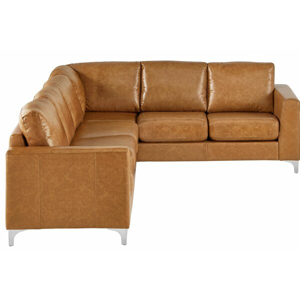 Barraza Aniline Reversible Sectional By Wade Logan Great Reviews