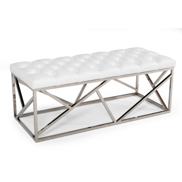 Plymouth Metal Bench by Everly Quinn Everly Quinn