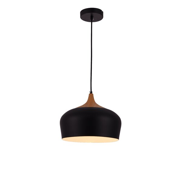1-Light Dome Pendant by Living District