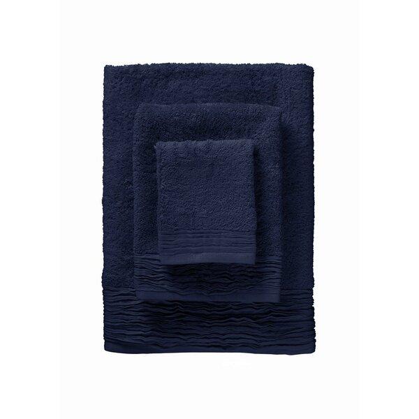 Holloway Pleated 6 Piece Turkish Cotton Towel Set by Orren Ellis