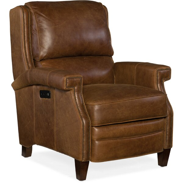 Elan Leather Power Recliner by Hooker Furniture