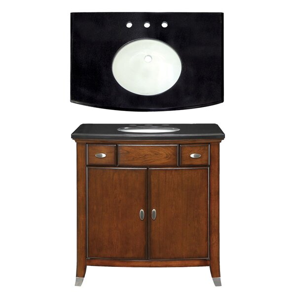 Cary 35 Single Bathroom Vanity Set by Davidson Woodcrafters