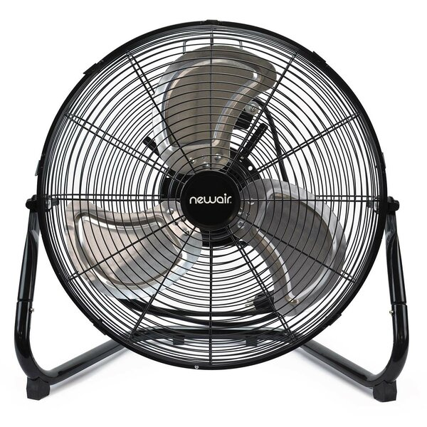 High Velocity Portable Floor Fan by NewAir