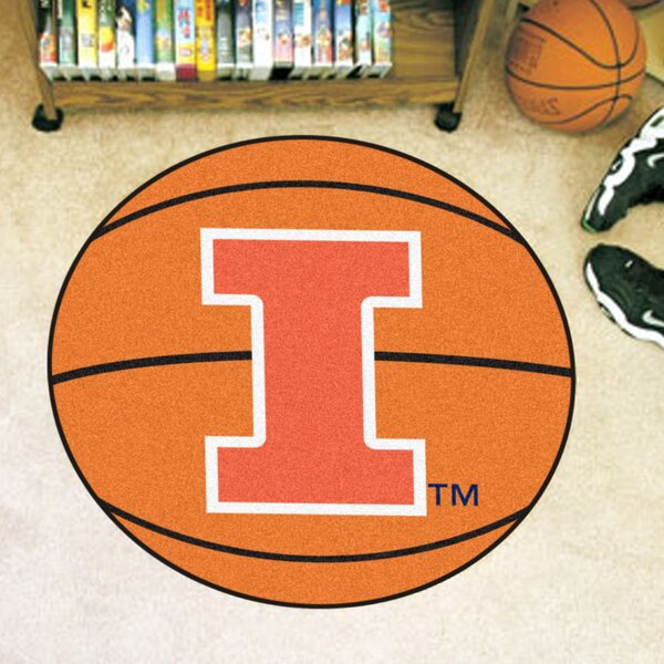 NCAA University of Illinois Basketball Mat by FANMATS