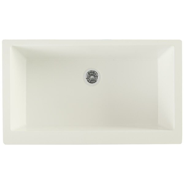 Quartz Luxe 36 L x 21 W Farmhouse Kitchen Sink with Perfect Drain by Elkay