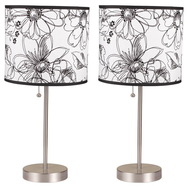 Eagleview 18.5 Table Lamp (Set of 2) by Red Barrel Studio