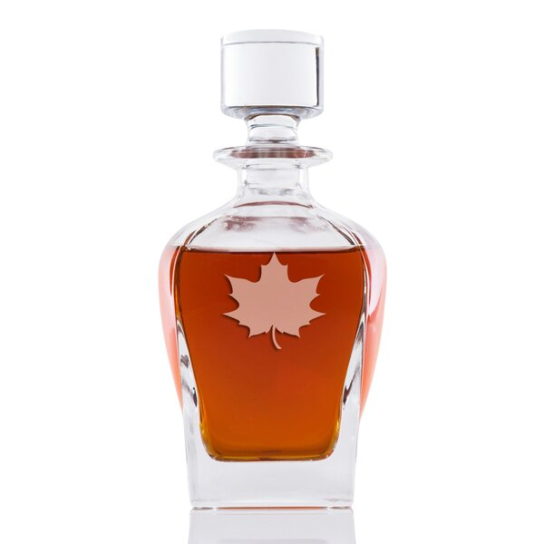 Faust Maple Leaf Whiskey 24 oz. Decanter by Loon Peak