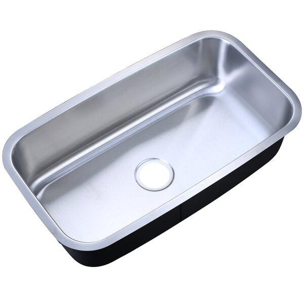 31 L x 18 W Undermount Kitchen Sink