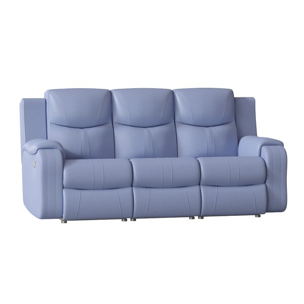 Marvel Leather Reclining Sofa by Southern Motion Southern Motion