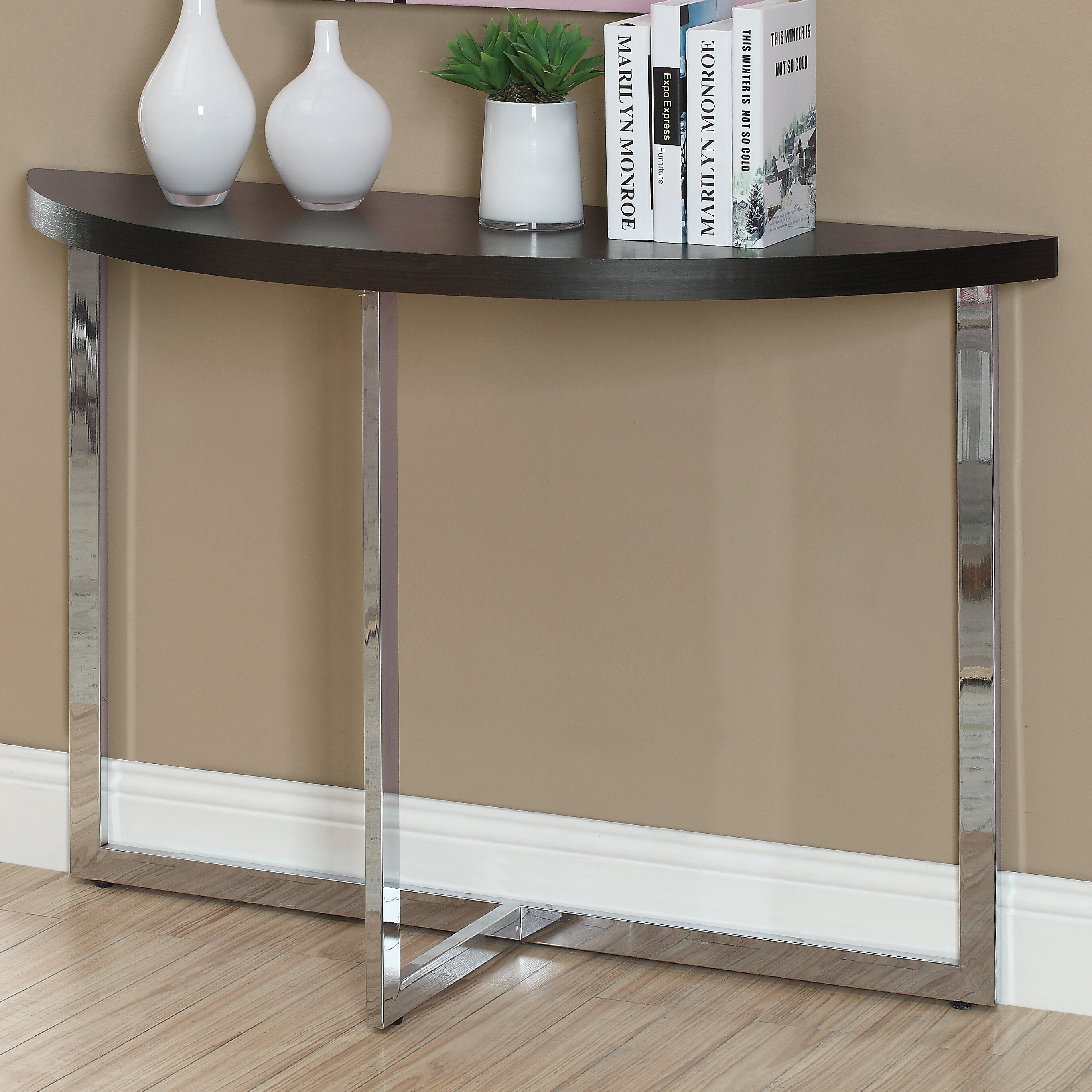 Monarch Specialties Inc. Half Moon Console Table U0026 Reviews | Wayfair