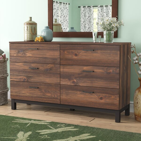 Jaiden 6 Drawer Double Dresser by Laurel Foundry Modern Farmhouse