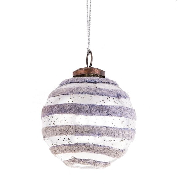 Father Frost Large Velvet Ball Ornament by The Holiday Aisle
