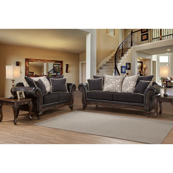 Excellent Reviews Serta Upholstery Chelmsford Loveseat by Alcott Hill by Alcott Hill
