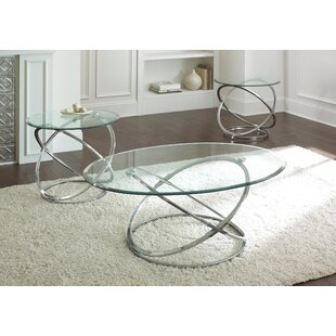 Ashley Down 3 Piece Coffee Table Set Wade Logan
