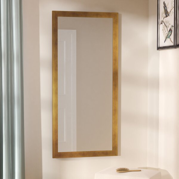 Hushed Gold Sunset Wall Mirror by Darby Home Co