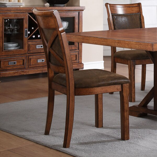 Conness Upholstered Dining Chair (Set of 2) by Loon Peak