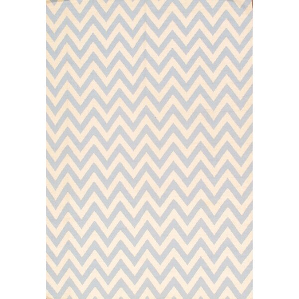 Sahara Light Blue/Ivory Area Rug by Pasargad