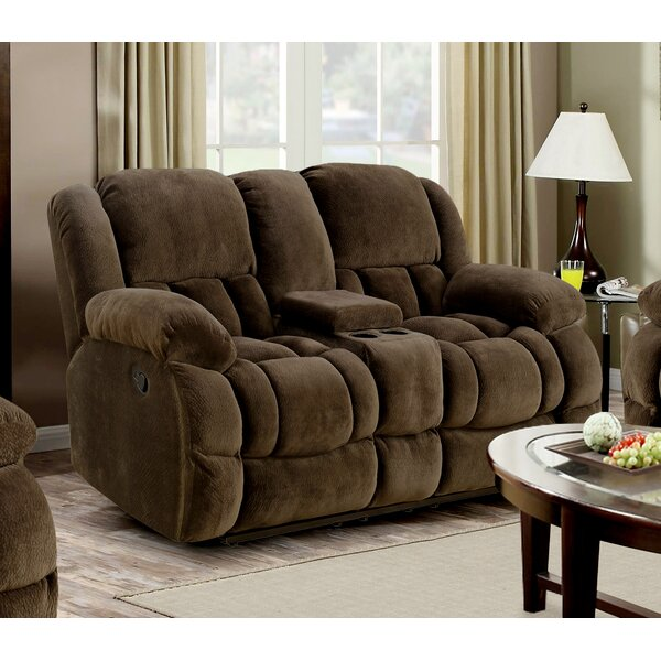 Don't Miss The Midsomer Reclining Loveseat by Winston Porter by Winston Porter