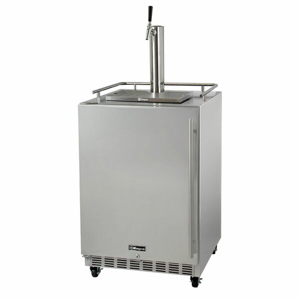Single Tap Commercial Grade Full Size Beer Dispenser by Kegco