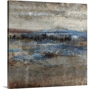 'Storm Clearing Slate' by Alexys Henry Painting Print on Canvas by Great Big Canvas