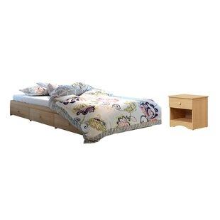 Comparison Brook Hollow Full Platform Configurable Bedroom Set ByRed Barrel Studio