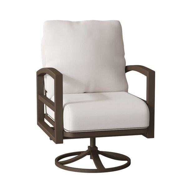 Lakeside Swivel Patio Chair with Cushions by Tropitone Tropitone
