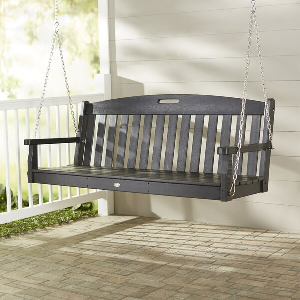 Yacht Club Porch Swing by Trex Outdoor