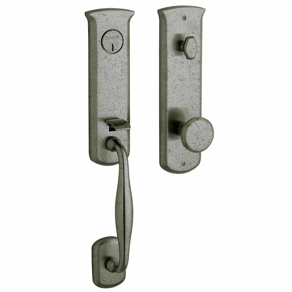 Tahoe Single Cylinder Entrance Handleset by Baldwin